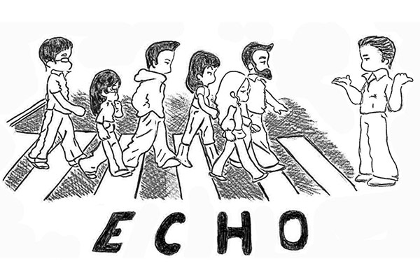 echo vocal band
